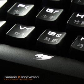 COUGAR 美州獅 白光茶軸^(德國Cherry機械軸^)機械式鍵盤~0利率 免 ~