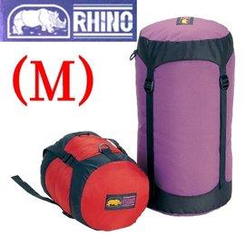 【RHINO 犀牛】睡袋壓縮袋 M (側邊加壓帶).收納袋.打理包.適毛毯.棉被.羽絨外套.化纖睡袋.衣物.露營登山裝備 901