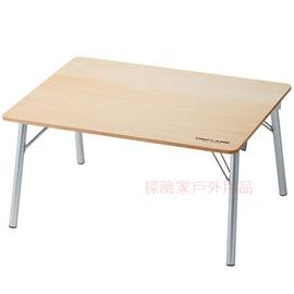 680766日本UNIFLAME天板小矮桌和式桌 鋁合金天然木桌 折疊桌 折合桌 日本製