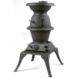 FT303鑄鐵暖爐 POT BELLY STOVE壁爐(大)武陵合歡山清境 露營 取暖 戶外居家