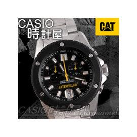 CASIO 時計屋_Caterpillar手錶_CAT_SI~243~11~121 ^(S