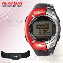 【ALATECH】Iron Man時尚多功能運動錶.腕錶.車錶.手錶.碼表 /自行車訓練.跑步路跑.三鐵健身/ FB004 紅