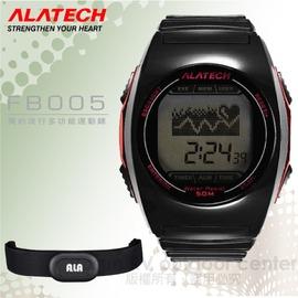 【ALATECH】簡約流行多功能運動錶.腕錶.車錶.手錶.碼表 /自行車訓練.跑步路跑.三鐵健身/ FB005 黑