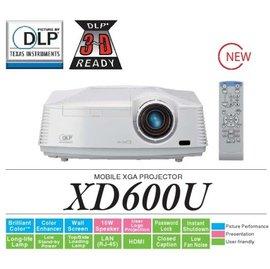 MITSUBISHI XD600U 日系高階 4500ANSI HDMI介面 3D  環保