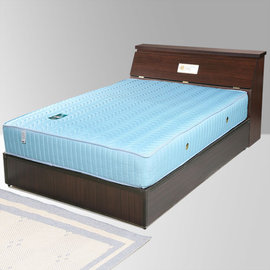 ~Homelike~席歐3.5尺單人床組 獨立筒床墊 床頭箱 床底 獨立筒   二色