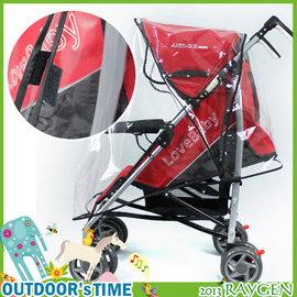 透明防水透氣嬰兒推車雨罩/嬰兒手推車傘車雨罩【HH婦幼館】