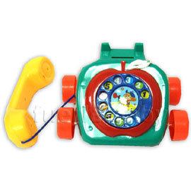 蘋果造型拉線電話 (6003)