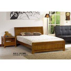 ~ ~布魯斯南洋風情 悠閒海洋渡假風精製3.5尺柚木色實木單人床架
