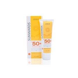 蒙娜麗莎高效防曬臉霜SPF50 50ml送修護保濕乳滋潤型