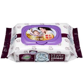 Baan貝恩 EDI嬰兒保養柔濕巾-無添加80抽