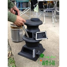 大林小草~【FT304】POT BELLY STOVE壁爐(小)、鑄鐵暖爐