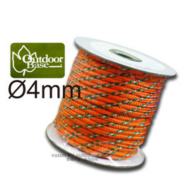 ~OutdoorBase~ 製 4mm ~ 20M 多 強力營光繩 尼龍繩.營繩.營柱 帳