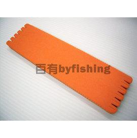 ◎百有釣具◎進口海棉 180子線板 長:20公分 寬:5.5公分