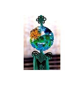 琉璃吊飾~麒麟(琉璃吊飾、商務、出國、留學送禮、收藏品)