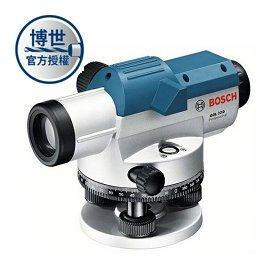 BOSCH 光學水平儀 GOL32D★適合戶外使用★大調焦旋鈕 方便定位