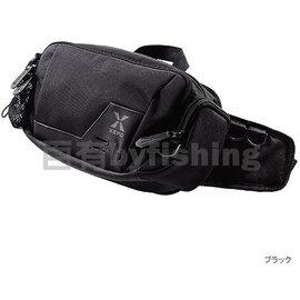 ◎百有釣具◎SHIMANO XEFO WB-240L 黑色釣魚腰包
