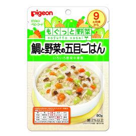 貝親 PIGEON 鯛魚蔬菜什錦燴飯 (P13537)