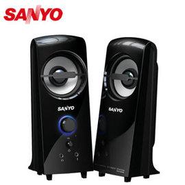 SANYO 三洋 SYSP~927 雷之音 2.0聲道多媒體電腦喇叭