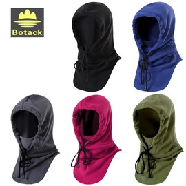 又敗家~ Botack布特細絨頭巾帽多 帽 適大頭 可包頭套面罩口罩圍巾護臉護頸護肩 防塵
