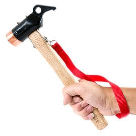 NTH06 努特NUIT 鍛造強化銅頭營槌(紅銅)營釘槌 鐵鎚 非snow peak 銅槌 銅錘 銅鎚