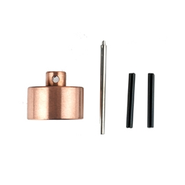 GU0703銅頭營槌專用更換零組件(附工具) 適用GU0702 鍛造強化銅頭營槌 銅槌