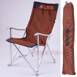 LOGOS02日本LOGOS鋁合金夢想家大川椅 折疊椅 休閒椅 導演椅 摺疊椅 灰色