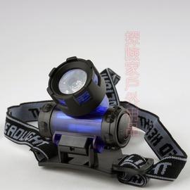 LS301爆亮防潑水3W省電LED輕巧頭燈 露營燈 手電筒 工作 釣魚 80流明