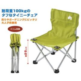 NO.73170004 日本品牌LOGOS繽紛人生野營椅 綠色 迷你休閒椅 耐100KG 導演椅