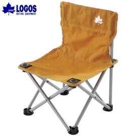 NO.73170006 日本品牌LOGOS繽紛人生野營椅 橘色 迷你休閒椅 耐100KG 導演椅