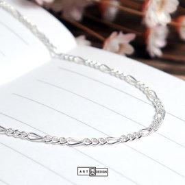 925純銀項鍊~品牌 節節鍊^(40^)~16吋~64DESIGN