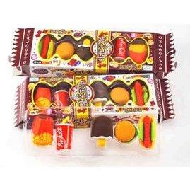 韓國人氣造型橡皮擦~仿真食物橡皮擦~套餐美食款!可拆卸立體造型橡皮擦! ◇/仿真漢堡套餐/冰淇淋蛋糕套餐