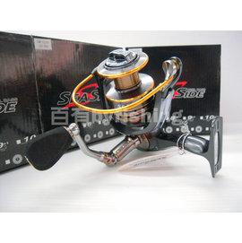 ◎百有釣具◎V-FOX SEASIDE 10+1 紡車大物捲線器SW-LC5000型