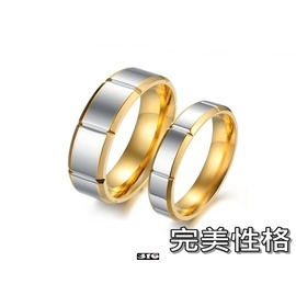 ~316小舖~~C36~^(316L鈦鋼戒指~完美性格~單件價 男對戒 女對戒 男女對戒