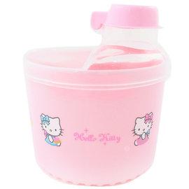 凱蒂貓加大旋轉奶粉盒-粉