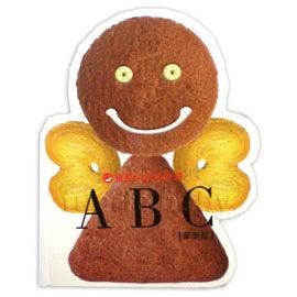 寶寶快樂造型書-ABC