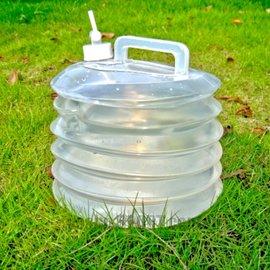 CHANODUG WATER CARRIER 10L折疊式水袋(水桶附飲水閉鎖口)軟式儲水袋.折疊水壺 車內水桶 釣魚桶 應急水盆 AL28(缺貨中)