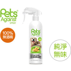 Pets Against~快潔適~寵物除臭噴劑 純淨無味 除菌、不含酒精、EPA無毒性 ~