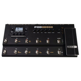 福爾摩沙樂器  LINE 6 POD HD500 吉他綜合效果器 變壓器及USB線
