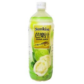 《Sunkist》香吉士芭樂汁 900ml*12入