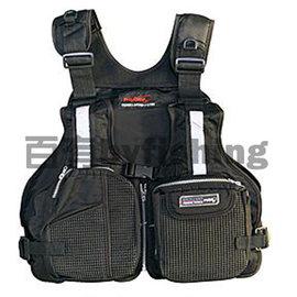 ◎百有釣具◎太平洋POKEE PK-9708 輕量救生衣~黑色/橘色可選 超 輕量設計