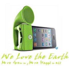 iPhone 4增音喇叭揚聲器~免插電!◇/喇叭立架擴音器