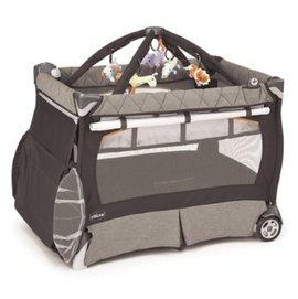 【會員滿5000元再享9折請洽客服】『MA01-3』義大利Chicco多功能豪華遊戲床/尿布檯/健力架/嬰兒床【灰】