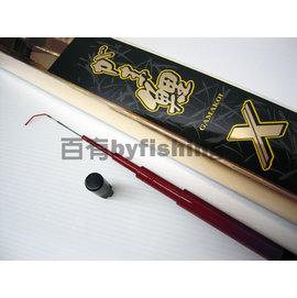 ◎百有釣具◎GAMAKATSU 鯉X 池釣竿 規格450~鯉竿界的王者