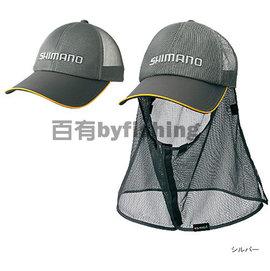 ◎百有釣具◎SHIMANO CA-001K 防蚊防曬釣魚帽 頭圍58.5cm / 61.5cm