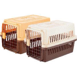 居家狗屋.籠內訓練 款^!^~^~寵愛物語 寵物運輸籠~RU~21~ 15公斤內,附可拆活