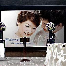╭~幸福朵朵~╯海報掛圖C款~ 2000元~~婚禮佈置│婚紗大圖~免完稿費