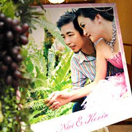 ╭~幸福朵朵~╯畫架迎賓板A款~ 1200元~~婚禮佈置│婚紗大圖~免完稿費~婚禮小物