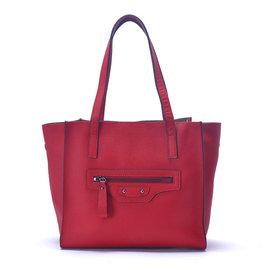 ~YULEE~真皮~都會可拆式內袋兩用包~玫瑰紅WH~B100~51