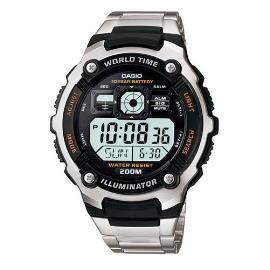 CASIO卡西歐~戰略數字電子錶^(不鏽鋼錶帶^) AE~2000WD~1A