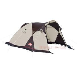 探險家露營帳篷㊣CM-2858美國Coleman 氣候達人雙人帳 1~2人蒙古包 帳棚 帳篷 帳蓬 超潑水處理